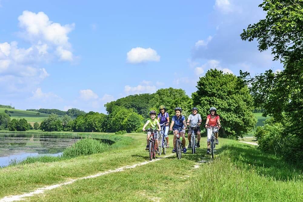 5 circuits vélo dans la Baie du Mont-Saint-Michel