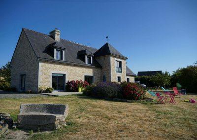 Maison hôtes avec jardin face au Mont Saint Michel
